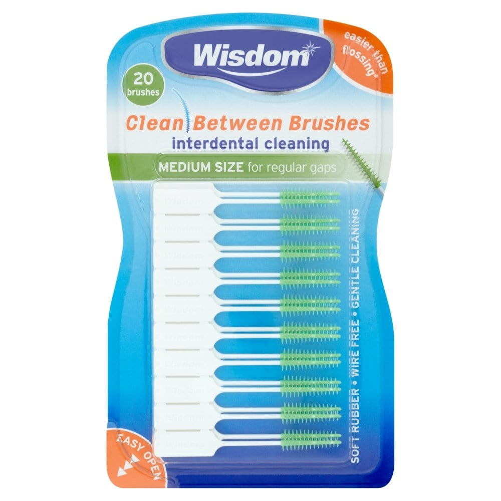 Wisdom Clean Between Brushes Green